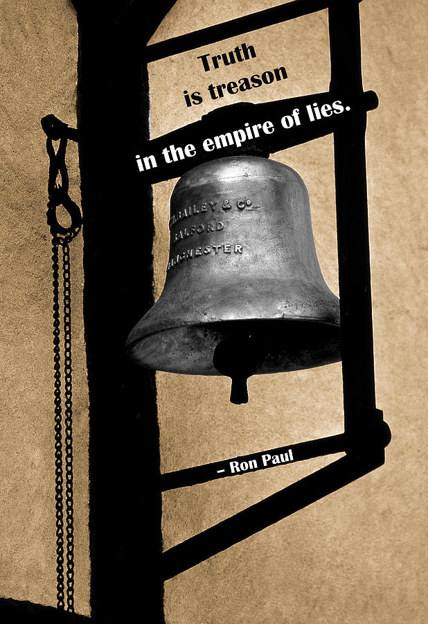 Truth Is Treason Photograph  - Truth Is Treason Fine Art Print