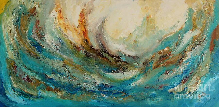 Tsunami Painting