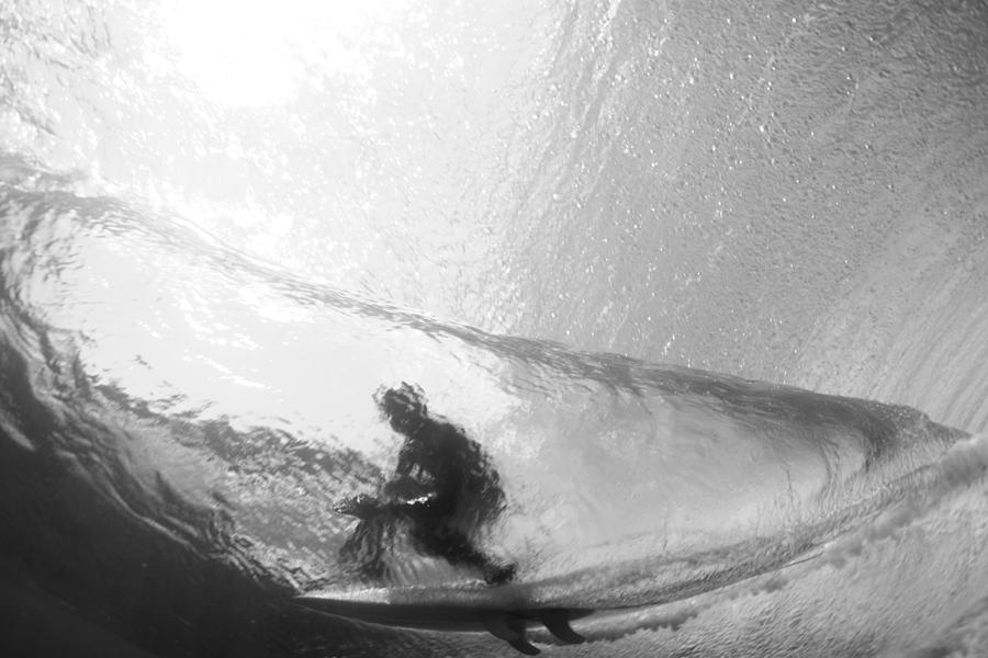 Under Water Photograph - Tube Time by Sean Davey