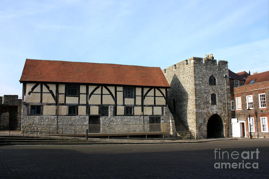 Tudor Merchants Hall Photograph