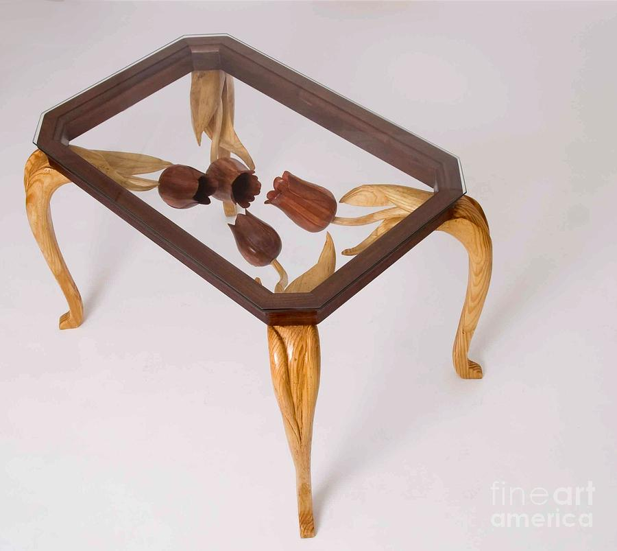 Tulip Table Sculpture