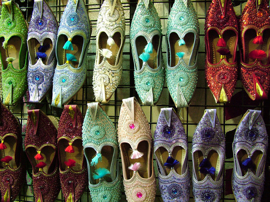 Tunisian Shoes Photograph