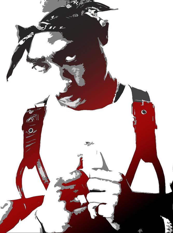 Tupac Painting