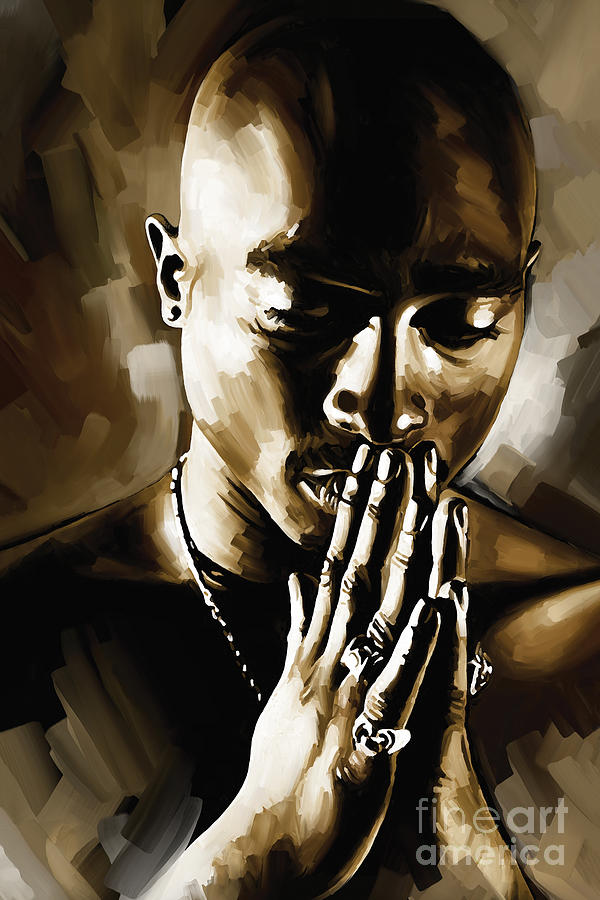 Tupac Shakur Artwork Painting