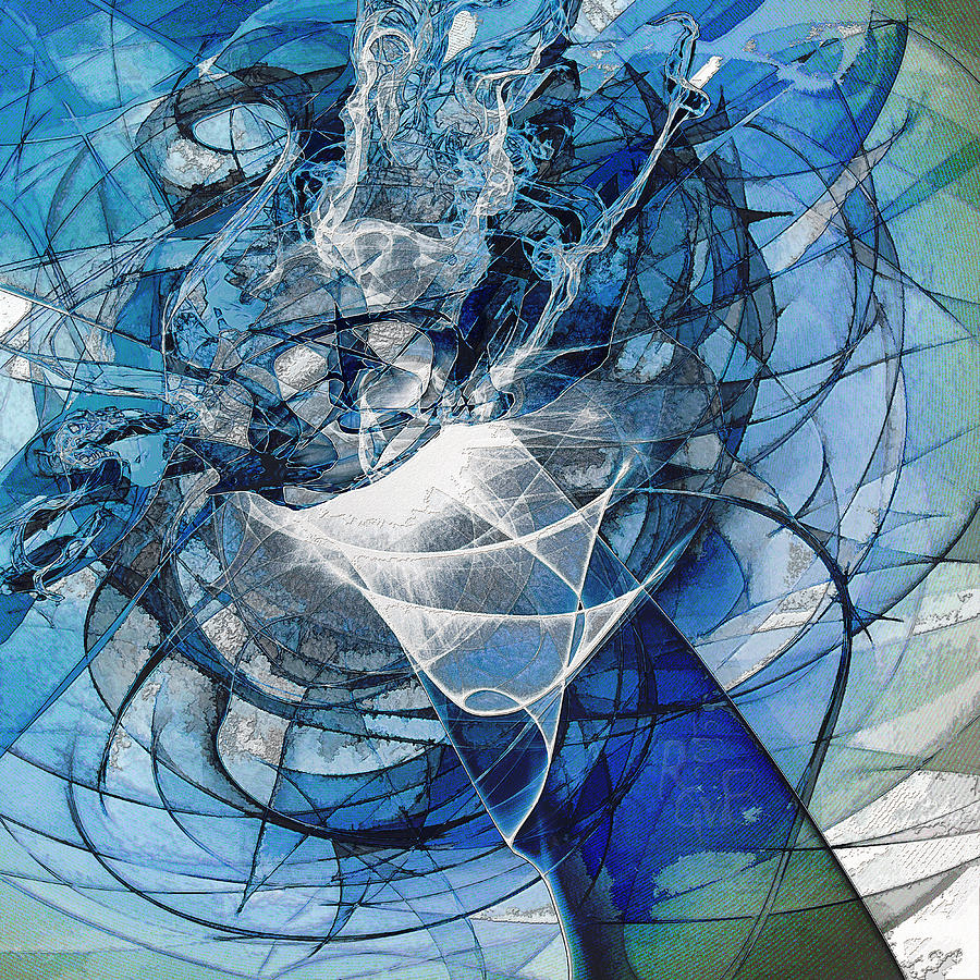 Turbulence Mixed Media  - Turbulence Fine Art Print