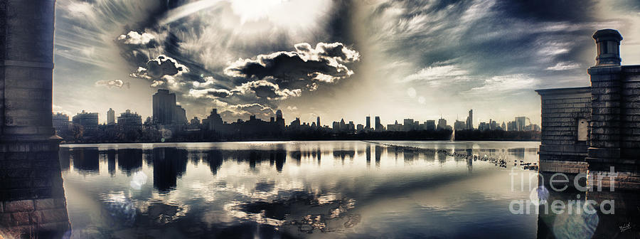 New York Central Park Photograph - Turbulent Afternoon by Nishanth Gopinathan