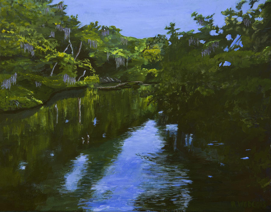 Turkey Creek Painting  - Turkey Creek Fine Art Print
