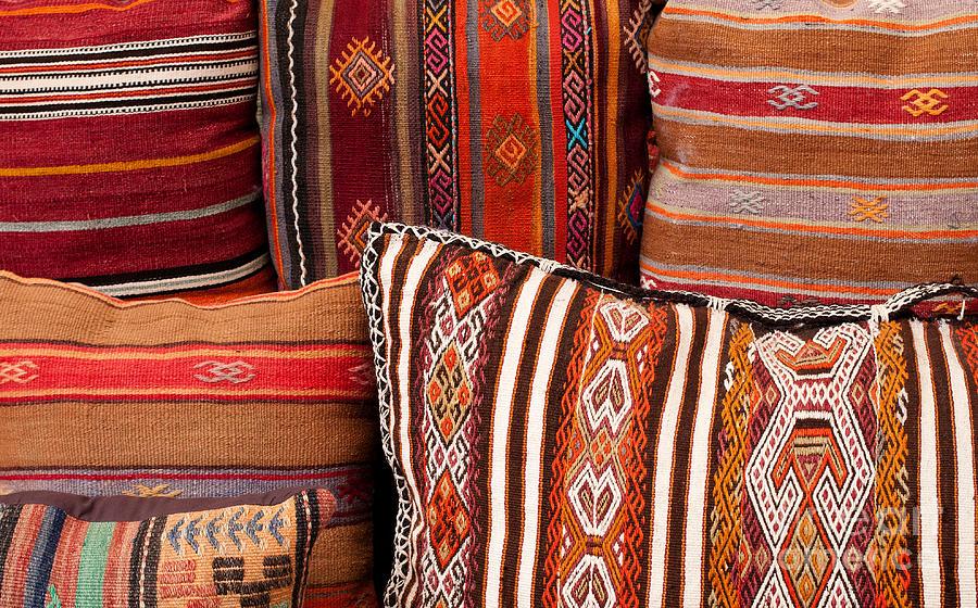 Turkish Cushions 01 Photograph