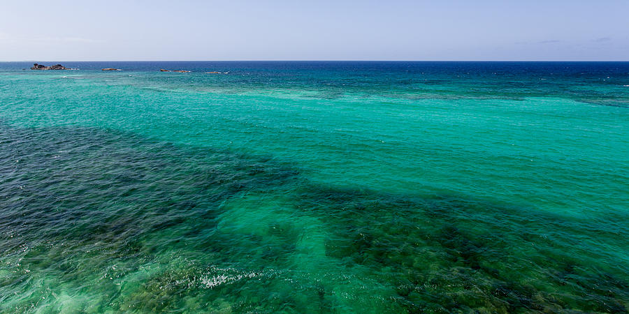 Blue Photograph - Turks Turquoise by Chad Dutson