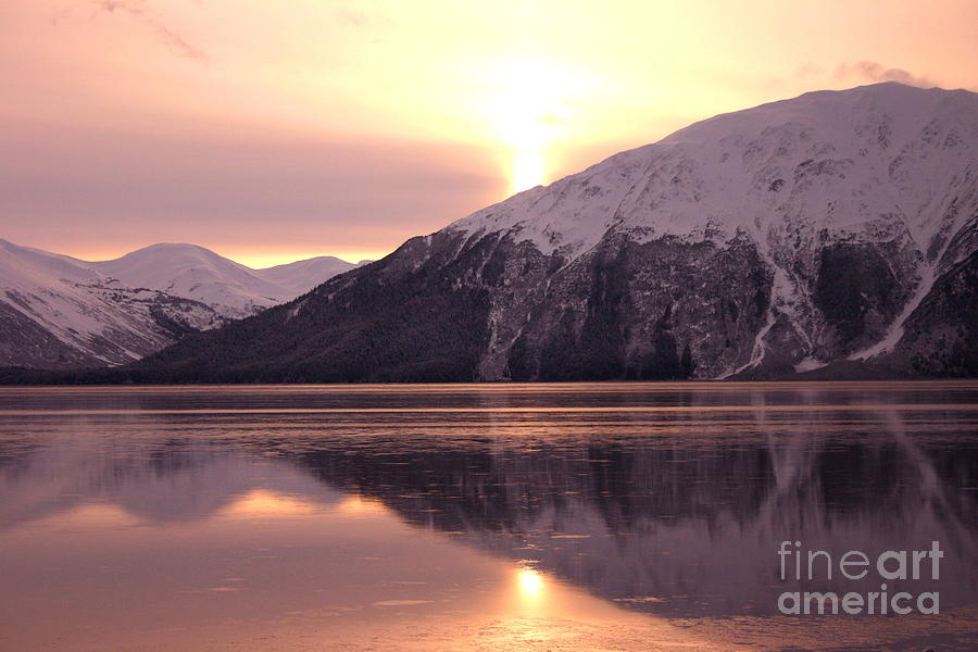 Turnagain Arm Morning Photograph  - Turnagain Arm Morning Fine Art Print