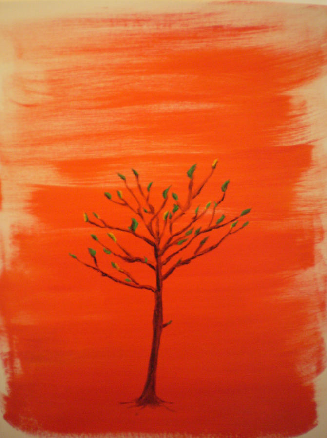 Tree Painting - Turning Over A New Leaf by Rob Spencer