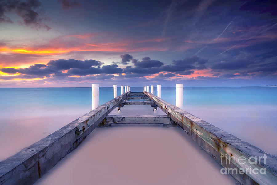 Beach Photograph - Turquoise Paradise by Marco Crupi