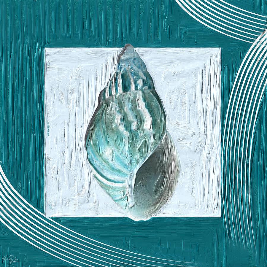 Turquoise Seashells Xx Painting