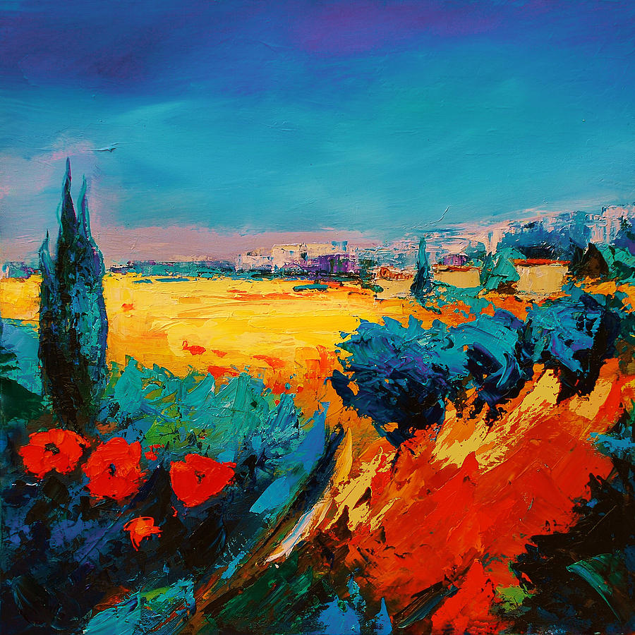 Tuscan Beauty Painting
