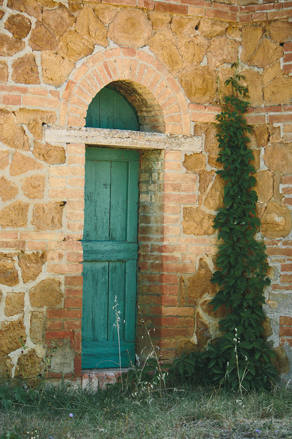 Tuscan Door Photograph  - Tuscan Door Fine Art Print