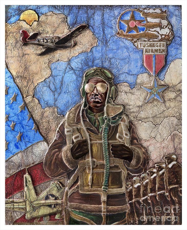 Tuskegee Airman Painting