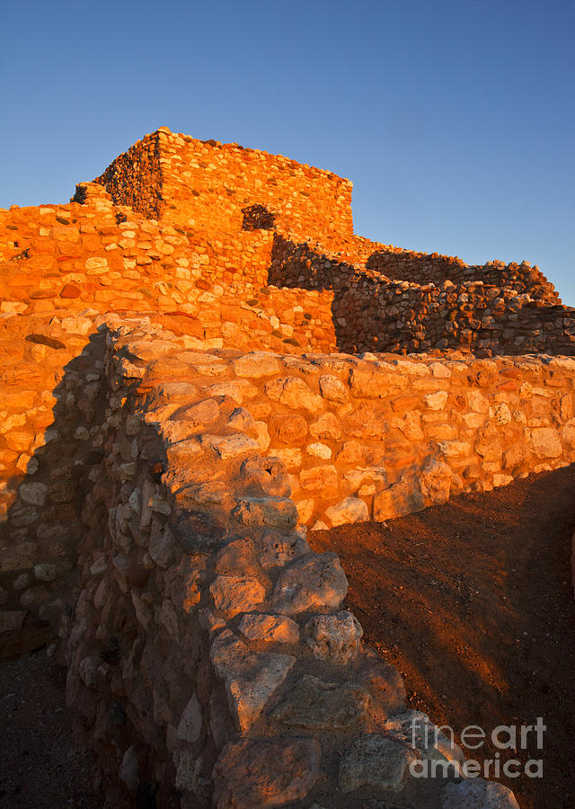 Tuzigoot Dawn Photograph