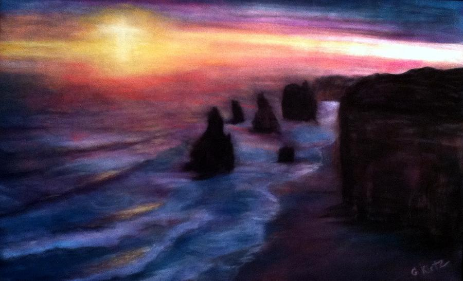 Twelve Apostles Pastel