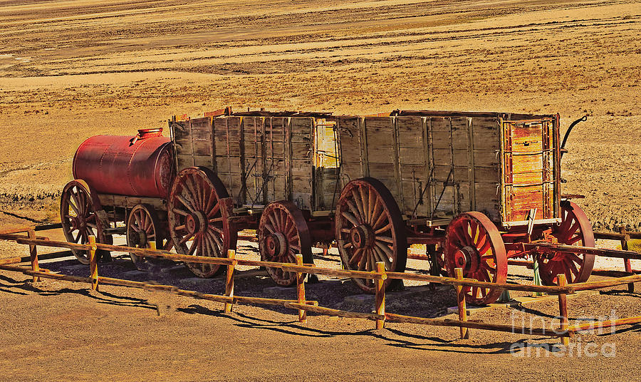 Twenty-mule Team In Sepia Photograph