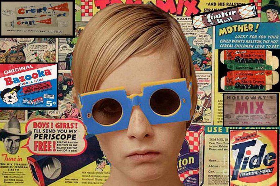Twiggy Pop  Digital Art
