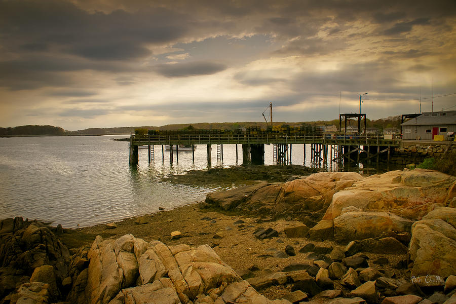 Twilight Cape Porpoise Maine Photograph