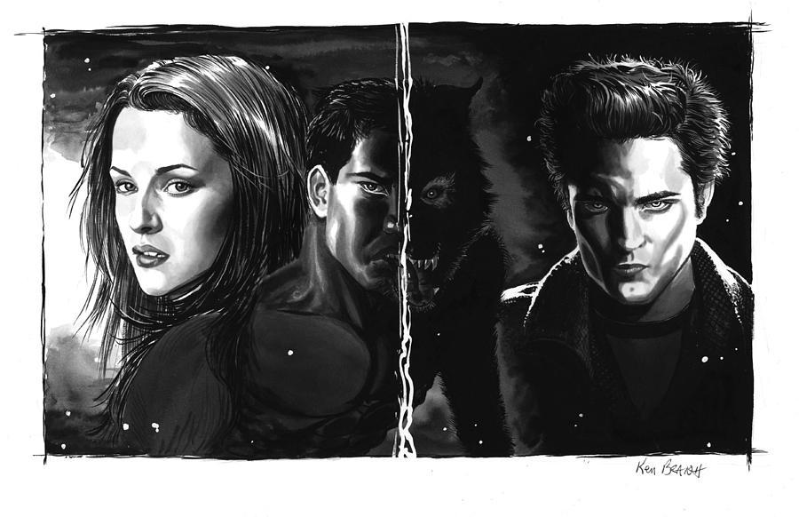 Twilight Painting - Twilight Portrait by Ken Branch