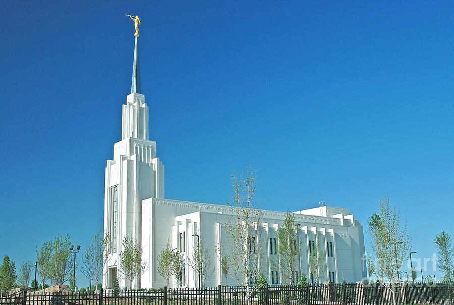 Twin Falls Idaho Lds Temple Photograph  - Twin Falls Idaho Lds Temple Fine Art Print