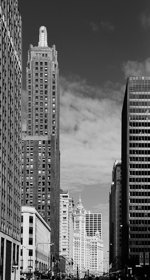 Carbide Photograph - Two Chicago Classics- Carbide And Carbon And Wrigley Building by Christine Till