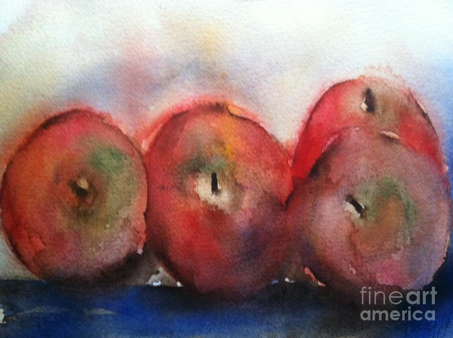 Orchards Painting - Two Pairs by Sherry Harradence