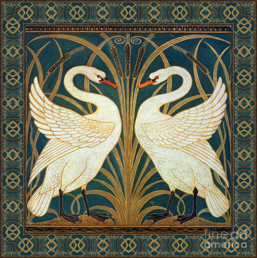 Two Swans Painting