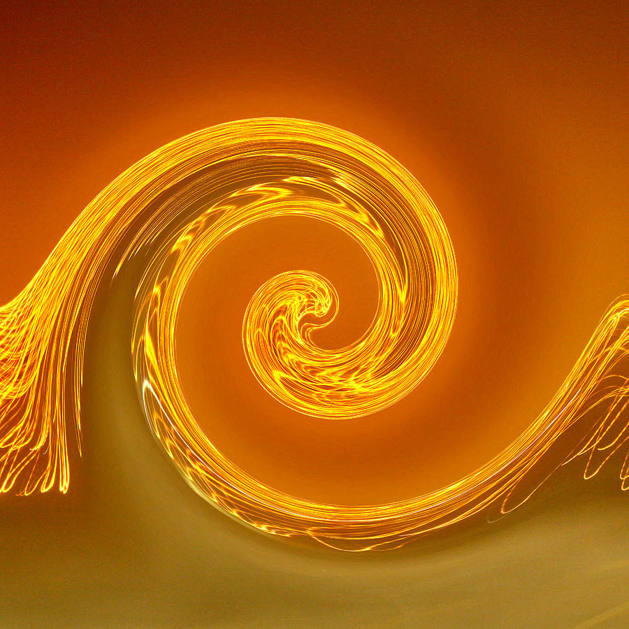 Two-toned Swirl Photograph