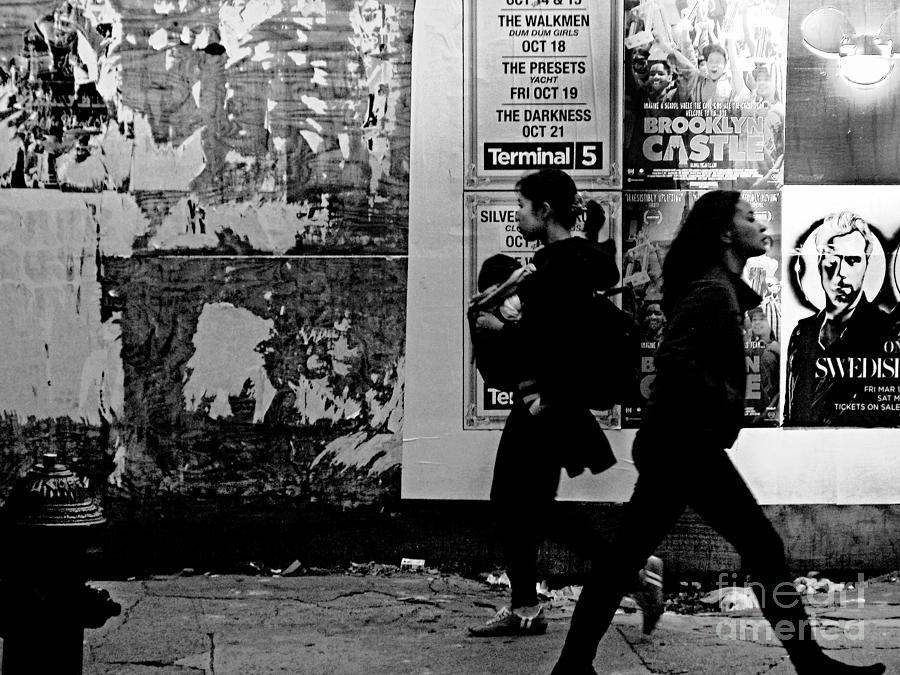 Two Women Walking Photograph