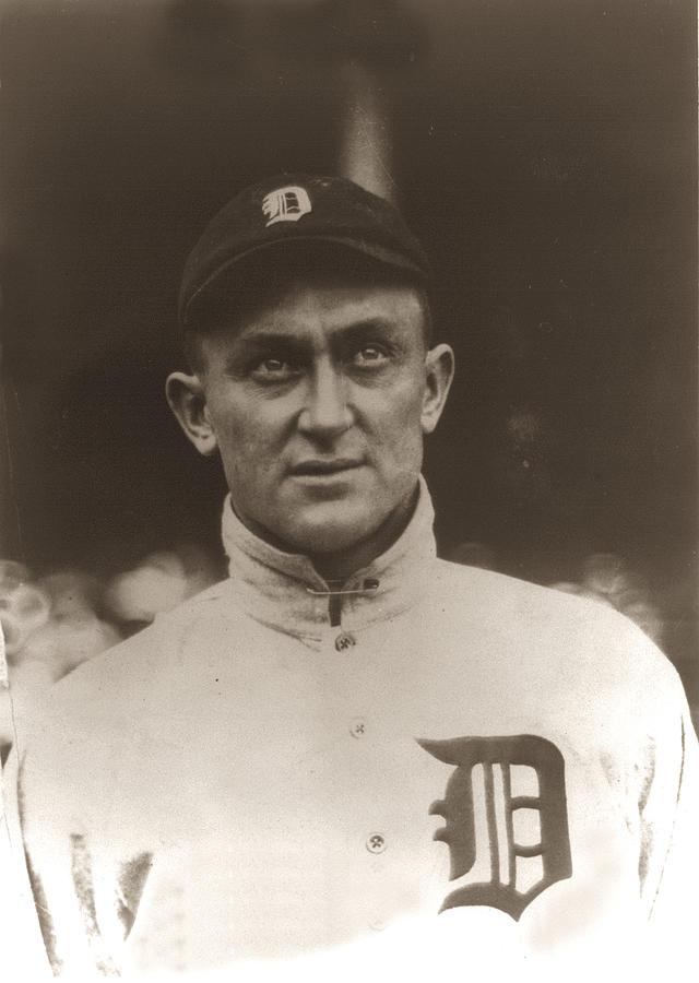Ty Cobb 1915 Photograph