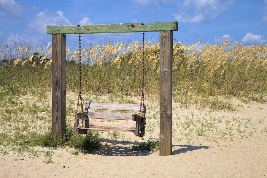 Tybee Island Swing Photograph