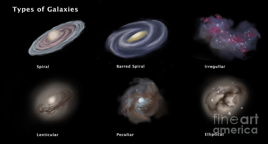 types of two spiral galaxies - photo #6