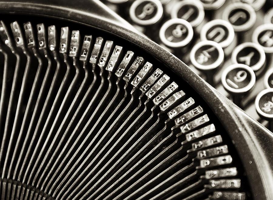 Typewriter One Photograph