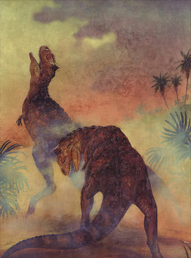 Tyrannosaurus Rex Dinosaurs Digital Art
