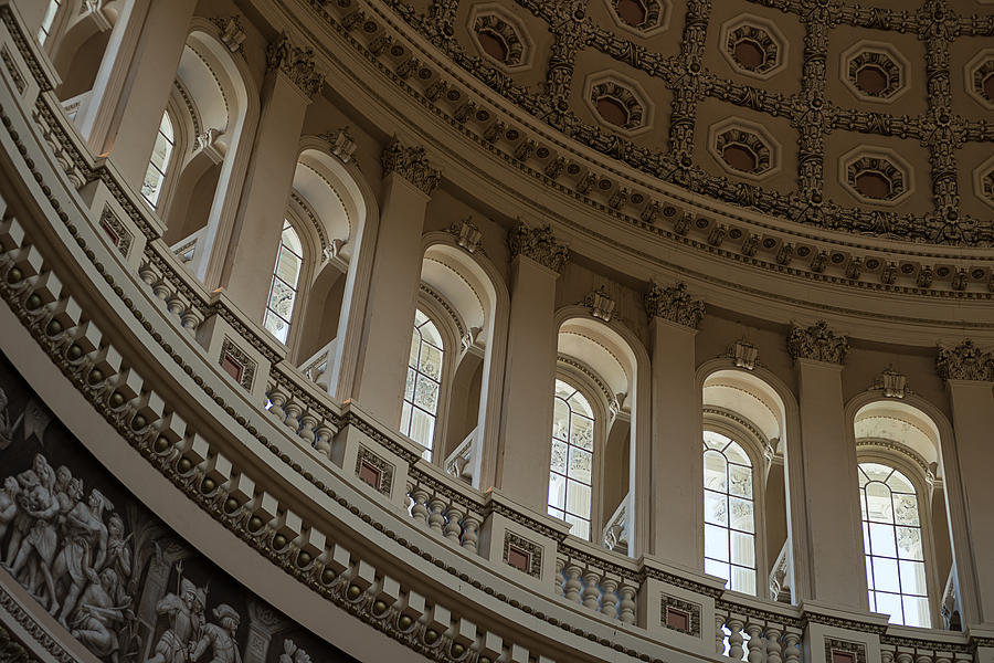 U S Capitol Dome Photograph