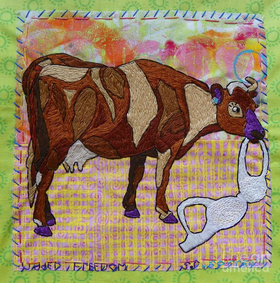 Udder Freedom Tapestry - Textile