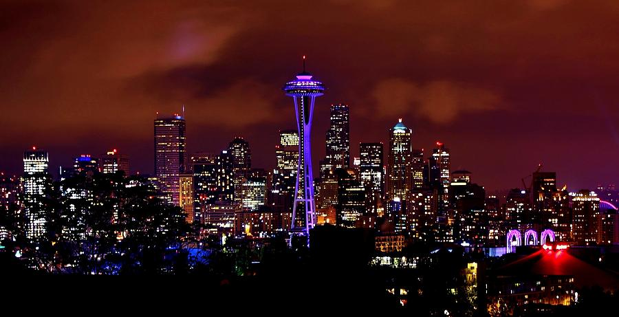 Udub Skyline Photograph