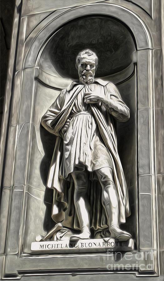 Uffizi Gallery - Michelangelo Buonarroti Painting