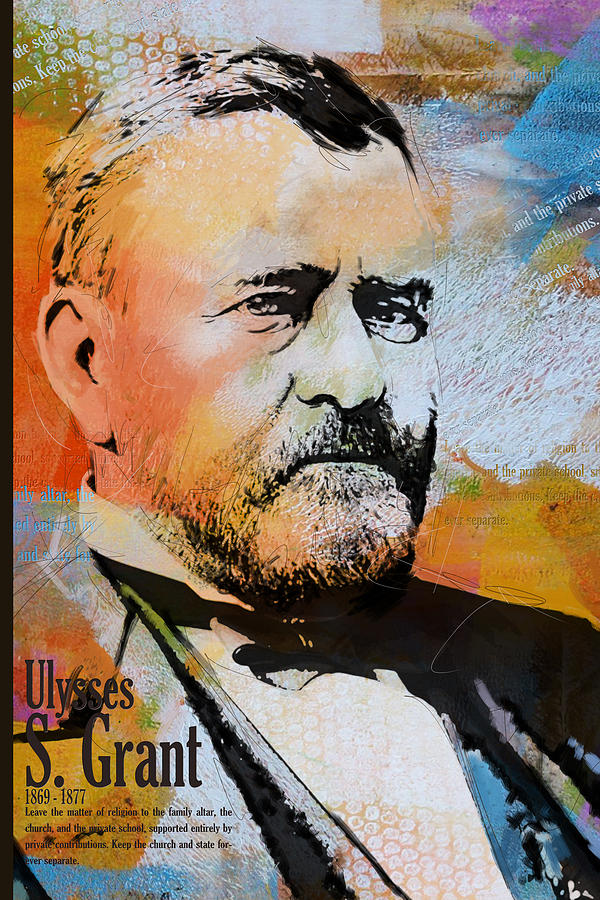 Ulysses S. Grant Painting - Ulysses S. Grant by Corporate Art Task Force