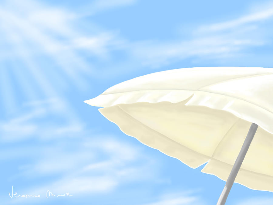 Umbrella Painting  - Umbrella Fine Art Print