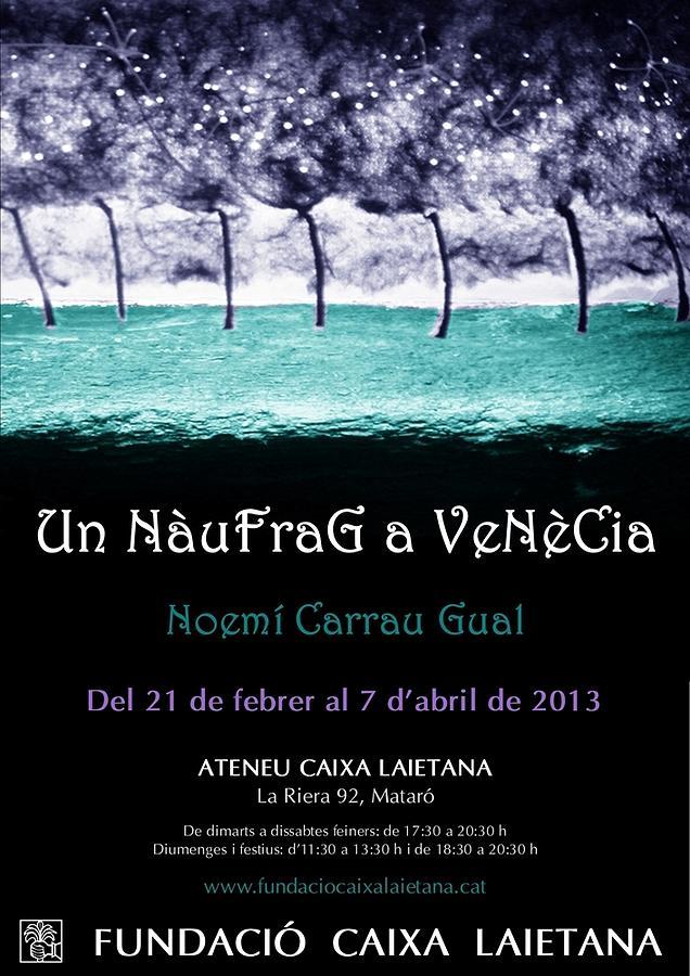 Un Naufrag A Venezia - Mostra Art Jove - Febrer 2013 Mataro - Barcelona Drawing