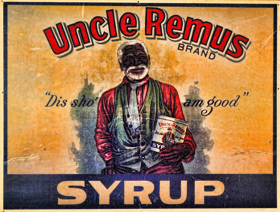 Racist Photograph - Uncle Remus  by Lee Dos Santos
