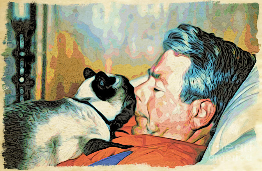 Man Photograph - Unconditional Love by Phyllis Kaltenbach