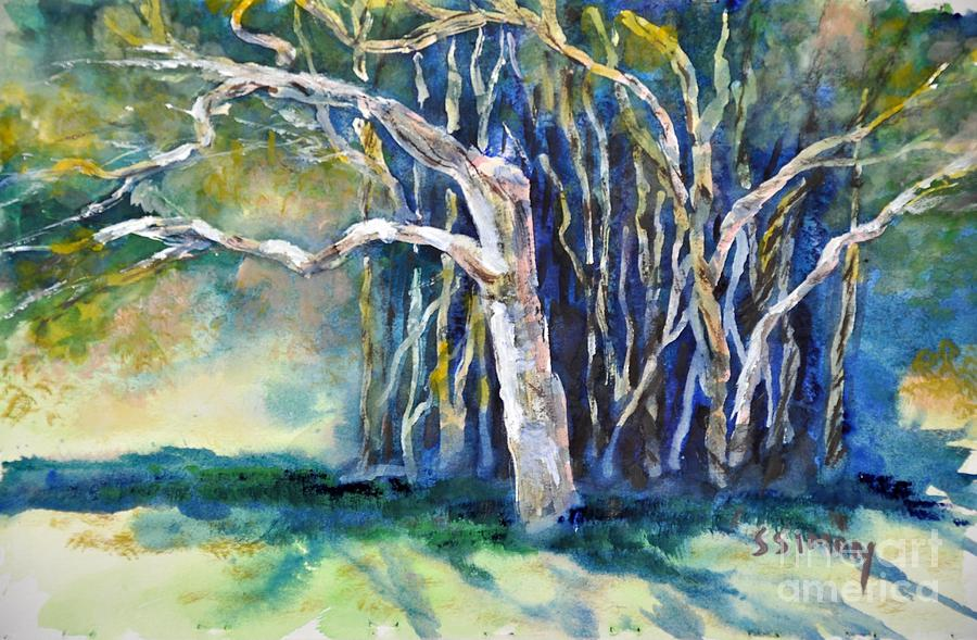 Banyan Tree Painting Under The Banyan Tree Painting