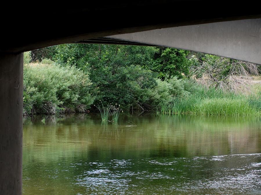 Under The Bridge Photograph - Under The Bridge by Ernie Echols