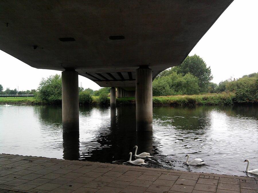 Landscape Photograph - Under The Bridge by Geoff Cooper