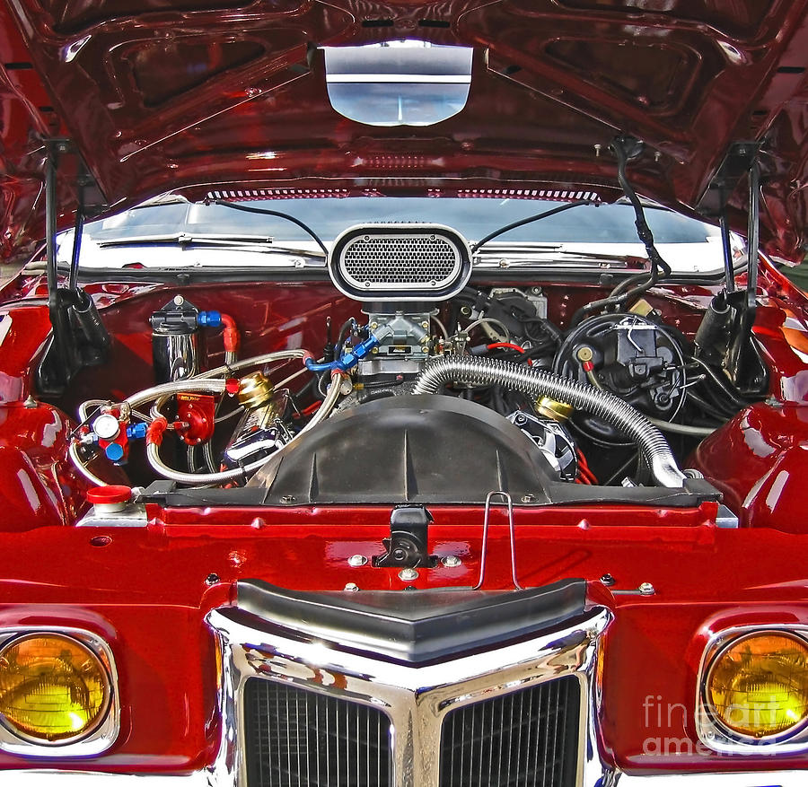 Under The Hood Photograph